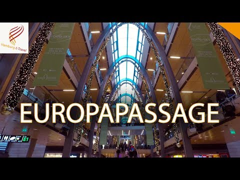 EUROPAPASSAGE HAMBURG | Einkaufszentrum Shopping Restaurants Cafés | Hamburg and Travel