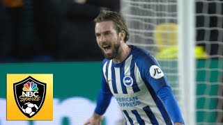 Davy Propper completes Brighton's quickfire double against Wolves | Premier League | NBC Sports