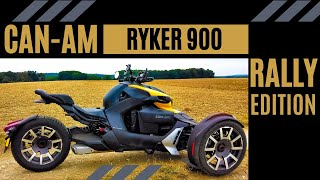 2019 Can-Am Ryker 900 Rally Edition | First Ride | Review | EN/DE Subs