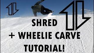 Download Lagu Shred w/ Nate / Wheelie Carve Tutorial / I FELL! TWICE! WTF! :p Gratis STAFABAND