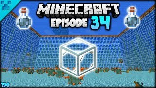 Encasing A Monument In GLASS! | Python's World (Minecraft Survival Let's Play S3 1.14) | Episode 34