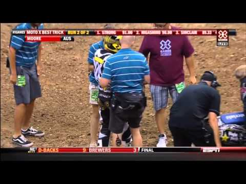 18 motocross best trick 2012 X-Games