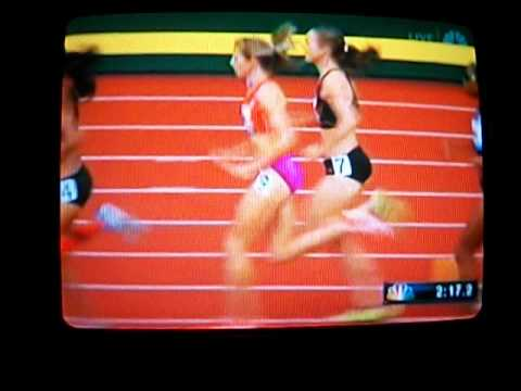 US Oly Trials: Women&#039;s 1500M FINAL, 7/1/2012 (ALL RIGHTS TO NBC).AVI
