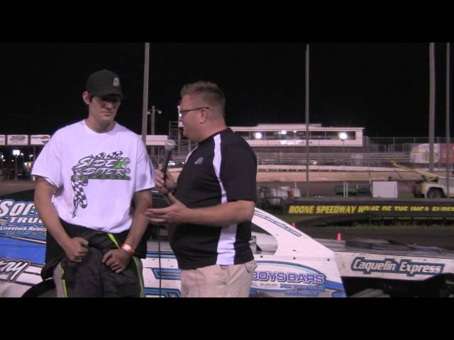 Devan Havlik Modified Feature winner 05/23/15