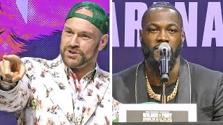 REMATCH Q&A | Deontay Wilder vs. Tyson Fury 2 - PRESS CONFERENCE | Los Angeles