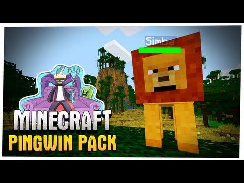 Minecraft - Król Lew Powraca! - Pingwin Pack Let's Play! #5