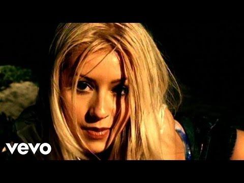 Смотреть клип Christina Aguilera - Genie In A Bottle (Remix)