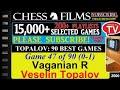 Chess Topalov 90 Best Games 47 Of 90 Vaganian R Vs Veselin Topalov mp3