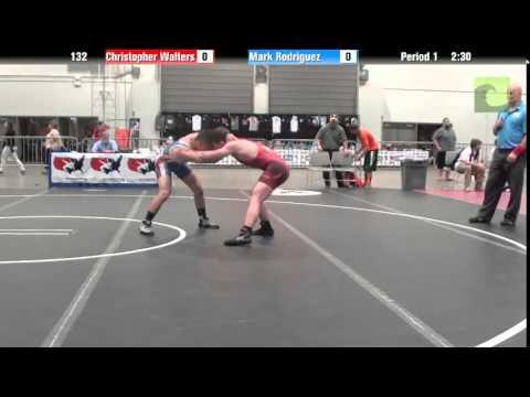 Men 132 - Christopher Walters vs. Mark Rodriguez