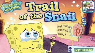 SpongeBob SquarePants: Trail of the Snail - Gary is Missing!!! (Nickelodeon Games)