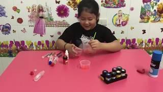 CHRISTMAS SLIME! - Vlog Kid Bao Tram