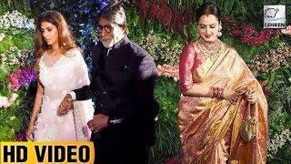 Amitabh Bachchan And Rekha CLASH At Anushka And Virat's Reception In Mumbai | LehrenTV