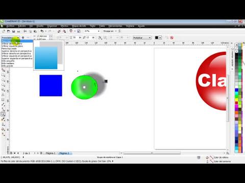 Curso de CorelDraw X5 - Crear logo Claro - Part 5
