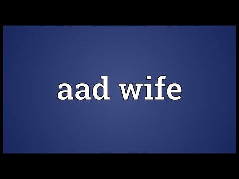 Header of Aad Wife
