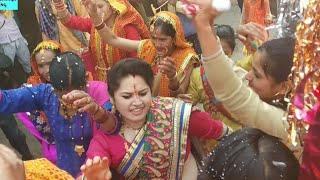क्या गजब का डांस किया ढोल के साथ || देखते रह जाओगे || New Gadhwali Video