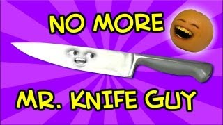 Watch Annoying Orange No More Mr Knife Guy video