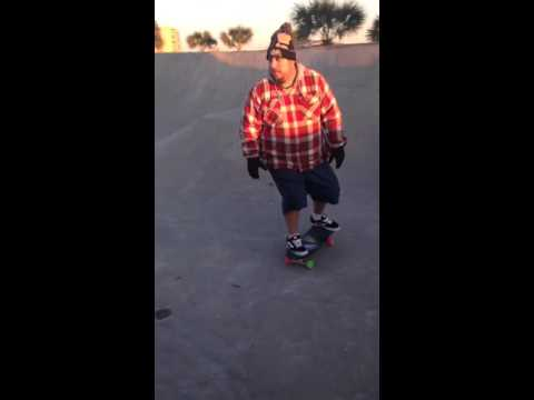 Skateboarding Old. Fat. and Out of Shape. Cole park Corpus Christi. Texas