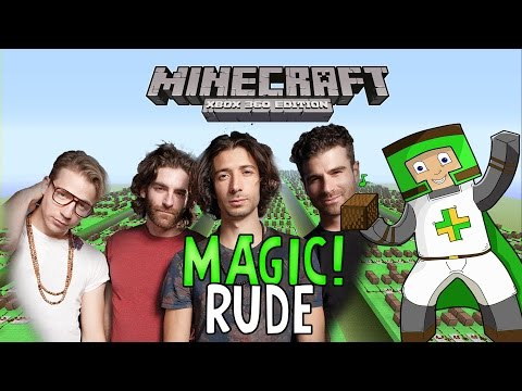 Rude MAGIC ♫ Minecraft Xbox 360 Noteblock Song ♫