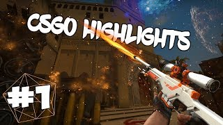 CSGO HIGHLIGHTS #1 WITH ENEMY VOICES!