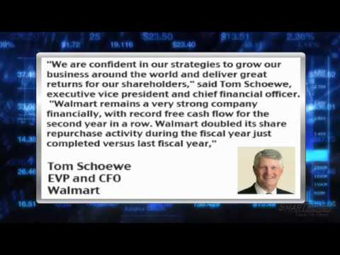 Earnings Report : Wal-Mart (NYSE:WMT) Posts Disappointing Sales and Guidance