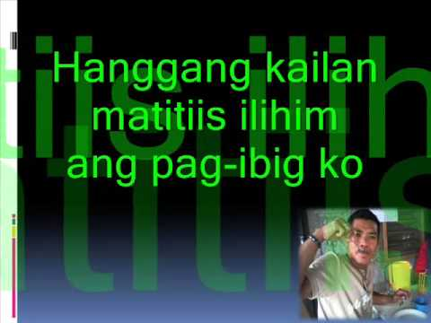 Roel Cortez Iniibig Kita Lyrics(cover By Elmer T  Saglayan) video