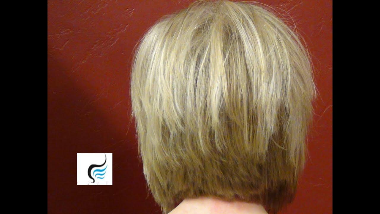 How To Cut A Cute A-Line Bob Cut Haircut | Girls
