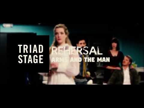 Triad Stage - Rehearsal | Arms and the Man