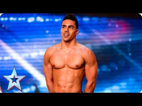 Saulo Sarmiento leaves the Judges feeling good   Auditions Week 6   Britain's Got Talent 2016