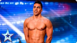 Saulo Sarmiento leaves the Judges feeling good | Auditions Week 6 | Britain's Got Talent 2016
