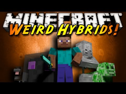 Minecraft Mod Showcase : WEIRD HYBRIDS