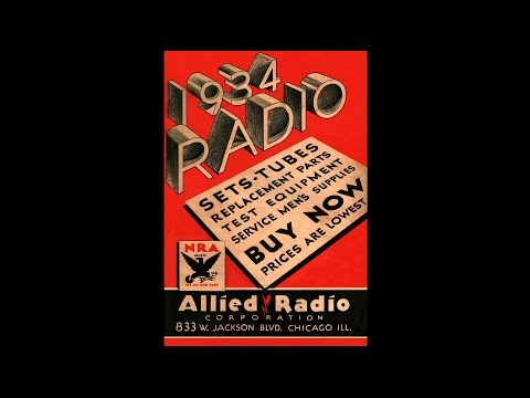 1934 Allied Radio - Radio Sets, Tubes, Replacement Parts & Test Equipment Catalog