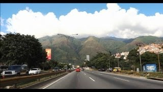Driving Around Caracas