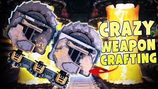 Anti-gravity Gun & Dual Saw Blade Launcher - Bosses & Weapon Builds - MOTHERGUNSHIP Part 2