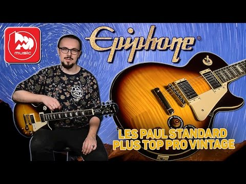 EPIPHONE LES PAUL STANDARD PLUS TOP PRO VINTAGE