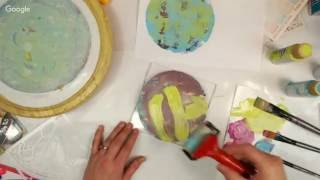 Gelli Plate Play Day June 2016