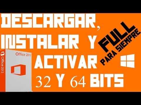 Descargar   Instalar   Activar   Microsoft Office Professional Plus 2013 32 y 64 bits   Para Siempre