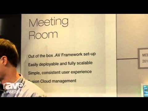 ISE 2016: Crestron Highlights .AV Framework Conference Room