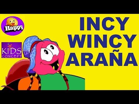 INCY WINCY ARAÑA.  CANCIONES INFANTILES