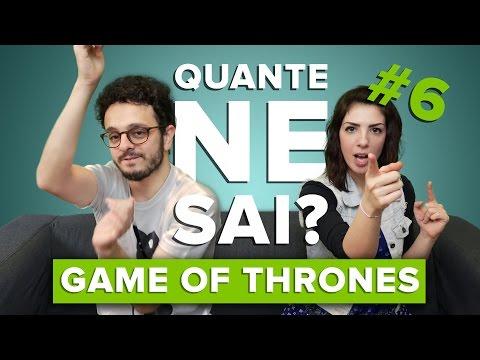 #QuanteNeSai #6 - Tiko e Violetta si sfidano su GAME OF THRONES!