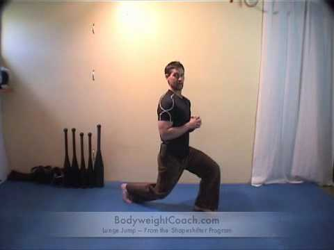 Bodyweight Lunge Jump