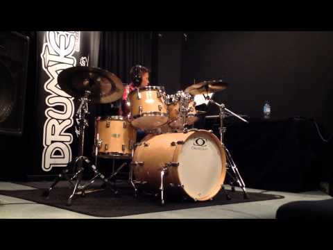 Harvey on drums - Supermassive Black Hole by Muse