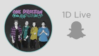 One Direction - Snapchat Live (OTRAT)