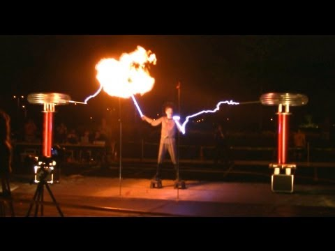 Plasma Ball Lightning Generator Tesla Coils