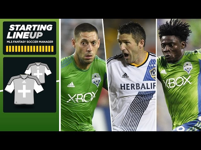 MLS Fantasy: Keane, Dempsey, or Martins? Strategizing for a big double game week | Starting Lineup