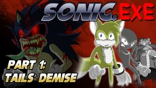 Round2 exe breaking the sonic exe curse unoffical sonic exe sequel