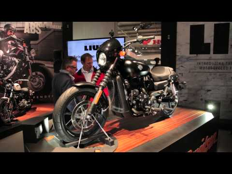 2014 Harley Davidson Street 750cc and 500cc - EICMA 2013 Milan Motorcycle Show