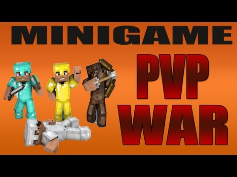 Minecraft: PVP War - DONT TOUCH MY BLOCK!! w/palmerater and friends