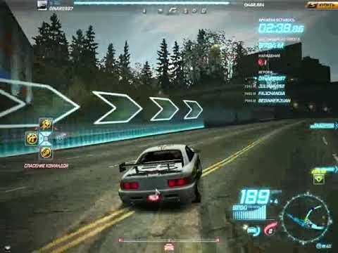Need For Speed World Погоня на Оллине (Toyota MR2) by Denar