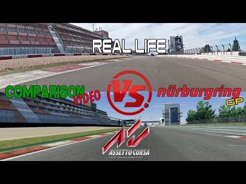 Assetto Corsa Vs Real Life @ Nurburgring