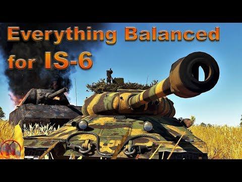 WT || IS-6 at 7.3 - So Balanced It Hurts [11 kills] thumbnail